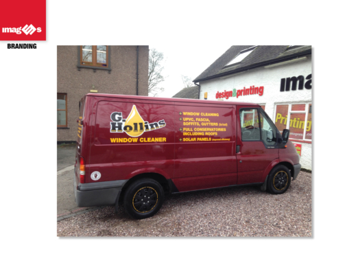 G Hollins, Van Graphics, with Dr Martens theme