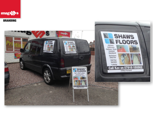 Shaws Floors, Magnetic graphics & A Board